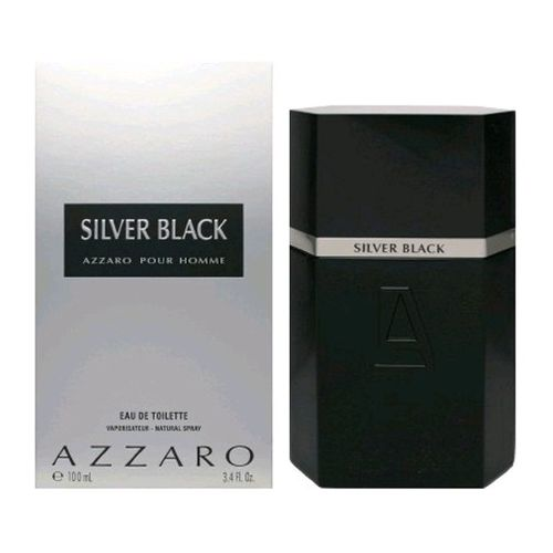 Silver Black by Azzaro, 3.4 oz Eau De Toilette Spray for Men
