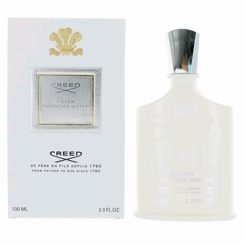 Silver Mountain Water by Creed, 3.3 oz Millesime Eau De Parfum Spray for Unisex