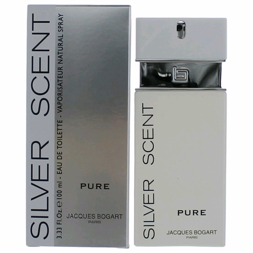 Silver Scent Pure by Jacques Bogart, 3.4 oz Eau De Toilette Spray for Men