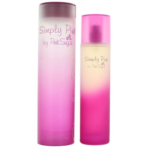 Simply Pink by Pink Sugar, 3.4 oz Eau De Toilette Spray for Women