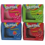 Skittles Scented Candle 4 Pack of 3 oz Jars - Variety
