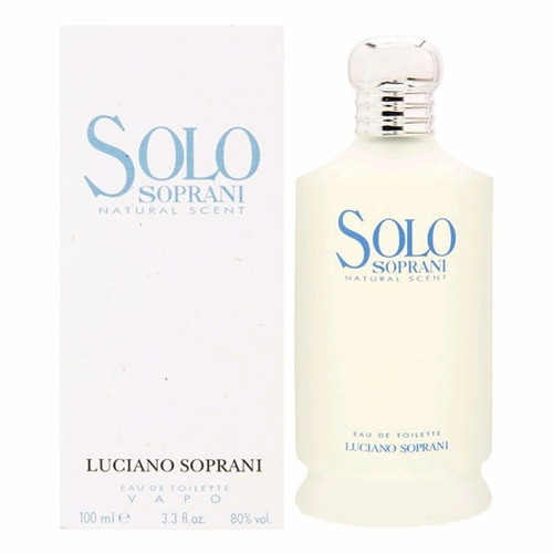 Solo Soprani by Luciano Soprani, 3.4 oz Eau De Toilette Spray for Men