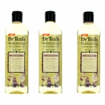 Soothing Lavender Essential Oil by Dr. Teal's, 3 Pack 8.8 oz Moisturizing Bath & Body Oil
