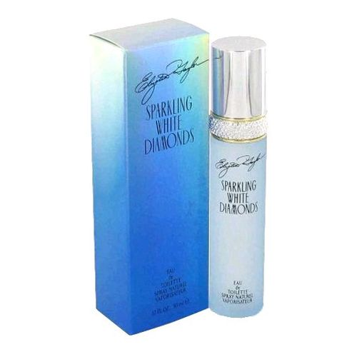 Sparkling White Diamonds by Elizabeth Taylor, 3.4 oz Eau De Toilette Spray for Women