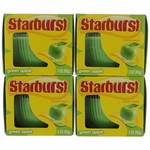 Starburst Scented Candle 4 Pack of 3 oz Jars - Green Apple