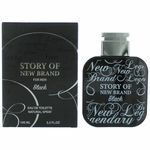Story of New Brand Black by New Brand, 3.3 oz Eau De Toilette Spray for Men