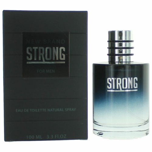 Strong by New Brand, 3.3 oz Eau De Toilette Spray for Men