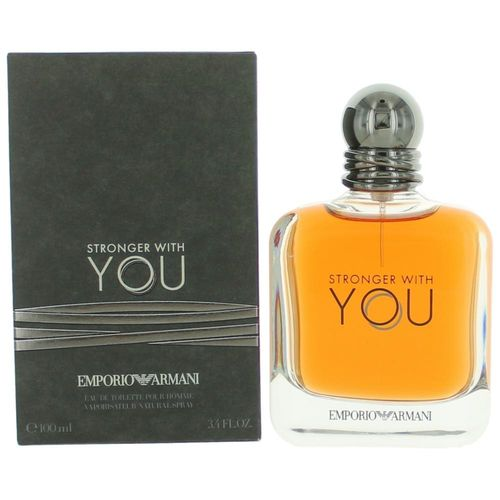 Stronger With You by Emporio Armani, 3.4 oz Eau De Toilette Spray for Men