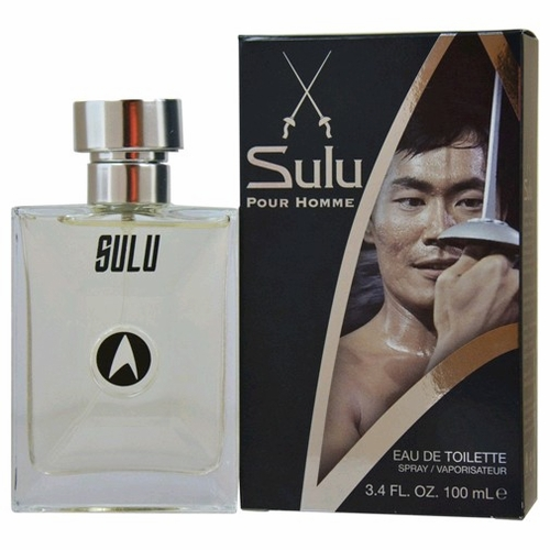 Sulu by Star Trek, 3.4 oz Eau De Toilette Spray for Men
