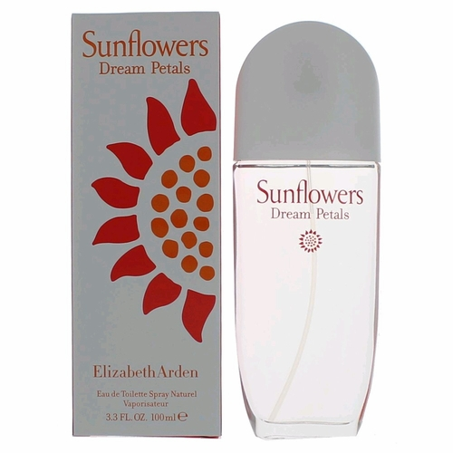 Sunflowers Dream Petals by Elizabeth Arden, 3.3 oz Eau De Toilette Spray for Women
