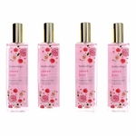 Sweet Love by Bodycology, 4 Pack 8 oz Fragrance Mist for Women