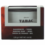 Tabac by Maurer & Wirtz, 4.4 oz Shaving Soap Bowl for Men