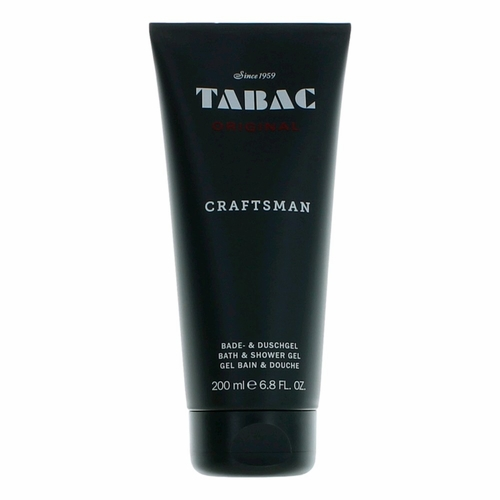 Tabac Craftsman by Maurer & Wirtz, 6.8 oz Bath & Shower Gel for Men