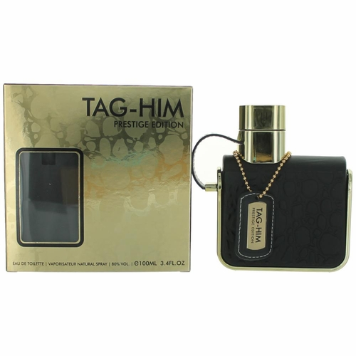 Tag Him Prestige Edition by Armaf, 3.4 oz Eau De Toilette Spray for Men