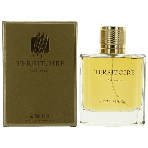 Territoire Gold by YZY, 3.4 oz Eau De Parfum Spray for Men