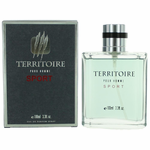 Territoire Sport by YZY, 3.4 oz Eau De Toilet Spray for Men