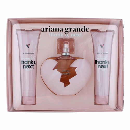 Thank U Next by Ariana Grande, 3 Piece Gift Set for Women