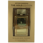 The Golden Secret Gold Edition by Antonio Banderas, 3.4 oz Eau De Toilette Spray The Gold Edition for Men