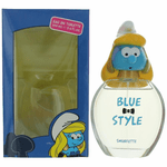 The Smurfs Blue Style Smurfette by Marmol & Son, 3.4 oz Eau De Toilette Spray for Girls