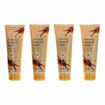 Toasted Sugar by Bodycology, 4 Pack 8 oz Moisturizing Body Cream for Women