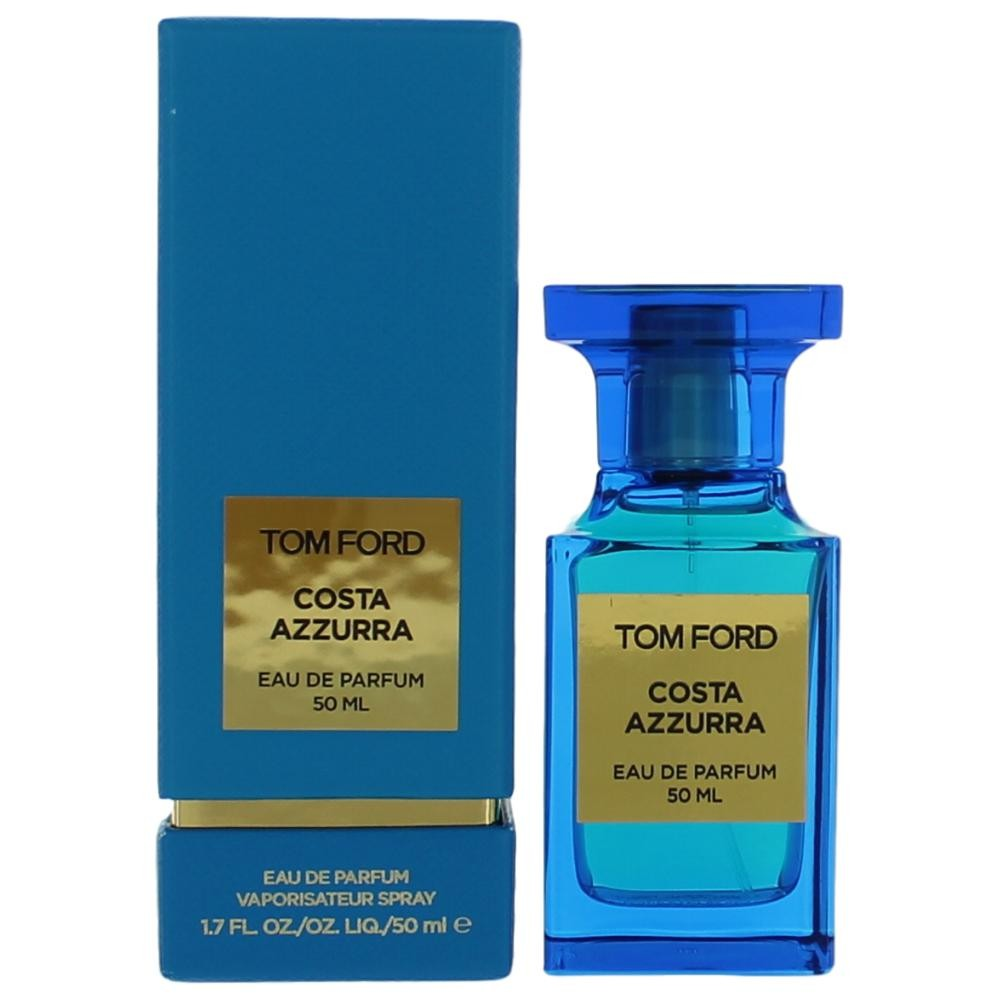 authentic tom ford costa azzurra by tom ford 1 7 oz eau. Black Bedroom Furniture Sets. Home Design Ideas