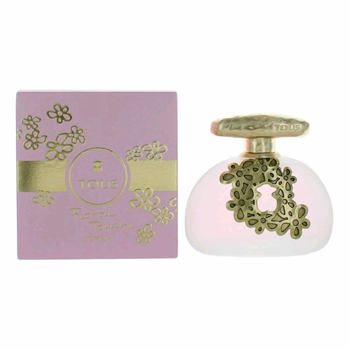 Tous Floral Touch So Fresh by Tous, 3.4 oz  Eau De Toilette Spray for Women