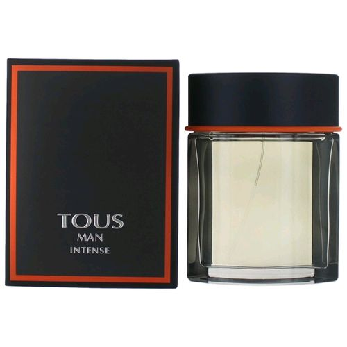 Tous Man Intense by Tous, 3.4 oz Eau De Toilette Spray for Men