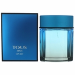 Tous Man Sport by Tous, 3.4 oz Eau De Toilette Spray for Men