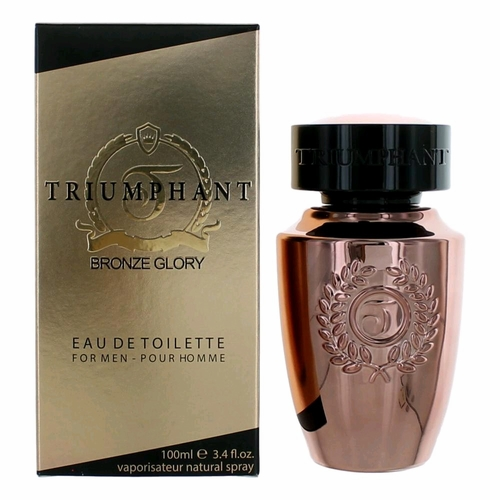 Triumphant Bronze Glory by Triumphant, 3.4 oz Eau De Toilette Spray for Men