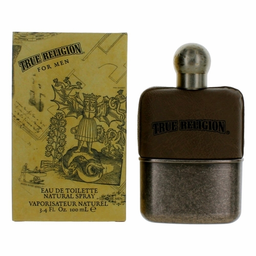 True Religion by True Religion, 3.4 oz Eau De Toilette Spray for Men