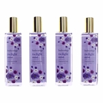 Twilight Mist by Bodycology, 4 Pack 8 oz Fragrance Mist for Women