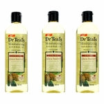 Ultra Rich Shea Butter & Essential Oil by Dr.Teal's, 3 Pack 8.8 oz Moisturizing Bath & Body Oil