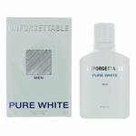 Unforgettable Pure White by Glenn Perri, 3.4 oz Eau De Toilette Spray for Men
