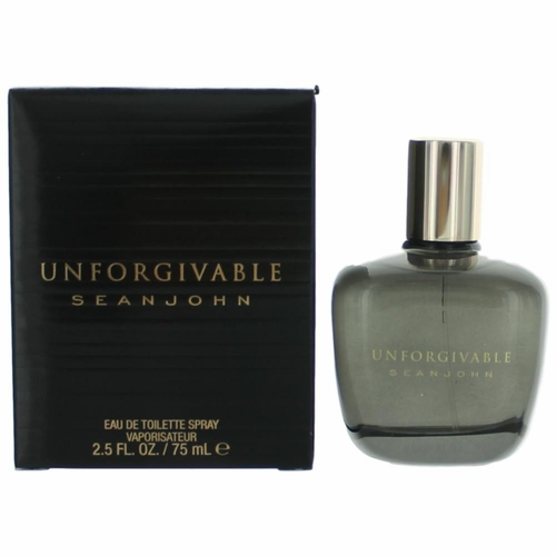 Unforgivable by Sean John, 2.5 oz Eau De Toilette Spray for Men