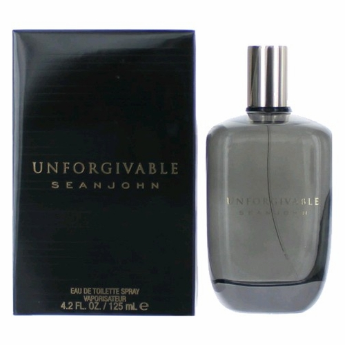 Unforgivable by Sean John, 4.2 oz Eau De Toilette Spray for Men