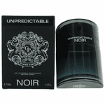 Unpredictable Noir Pour Homme by Glenn Perri, 3.4 oz Eau De Parfum Spray for Men