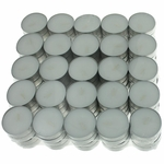 Unscented White Tealights Candles by USA Tealights, 100 Pack