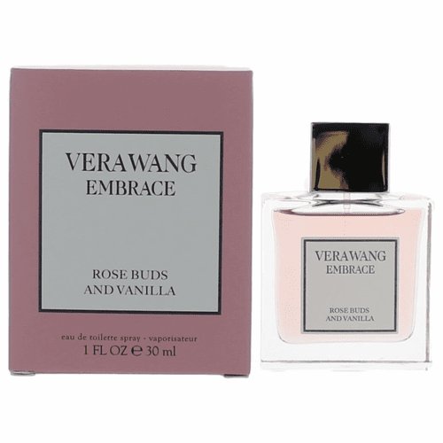 Vera Wang Embrace Rose Buds and Vanilla by Vera Wang, 1 oz Eau De Toilette Spray for Women