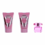 Versace Bright Crystal Absolu by Versace, 3 Piece Mini Gift Set for Women