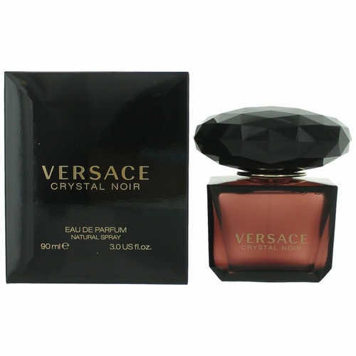 Versace Crystal Noir by Versace, 3 oz Eau De Parfum Spray for Women