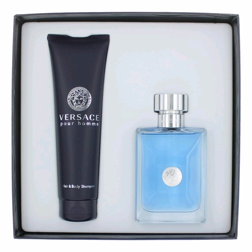 Versace Pour Homme by Versace, 2 Piece Gift Set for Men