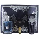 Versace Pour Homme by Versace, 3 Piece Gift Set for Men