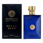 Versace Pour Homme Dylan Blue by Versace, 3.4 oz After Shave for Men