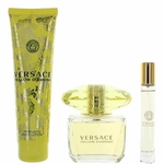 Versace Yellow Diamond by Versace, 3 Piece Gift Set for Women