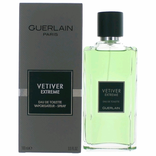 Vetiver Extreme by Guerlain, 3.4 oz Eau De Toilette Spray for Men