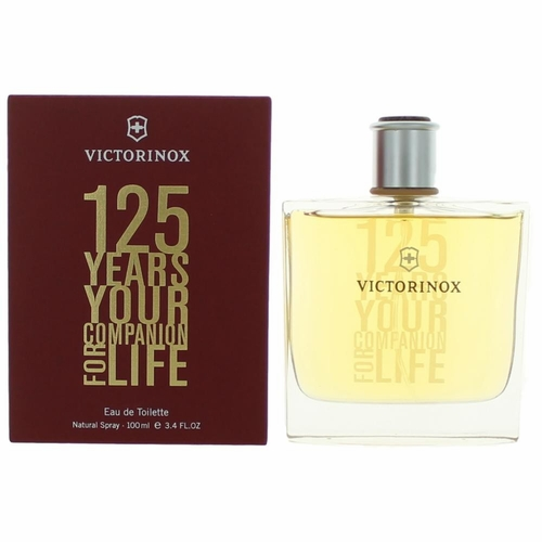 Victorinox 125th Anniversary by Swiss Army, 3.4 oz Eau De Toilette Spray for men