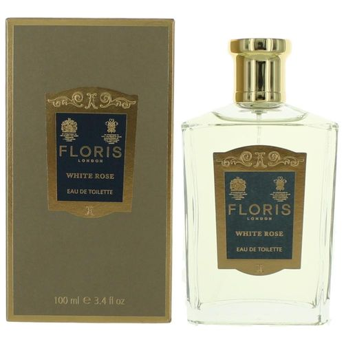 White Rose by Floris, 3.4 oz Eau De Toilette Spray for Women