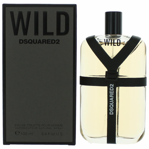 Wild by Dsquared2, 3.4 oz Eau De Toilette Spray for Men