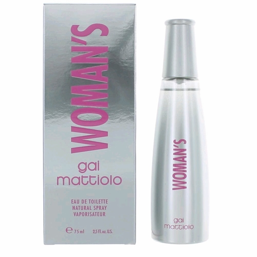 Woman's by Gai Mattiolo, 2.5 oz Eau De Toilette Spray for Women