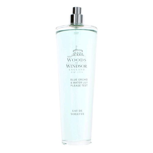 Woods of Windsor Blue Orchid & Water Lily by Woods of Windsor, 3.3 oz Eau De Toilette Spray for Women Tester